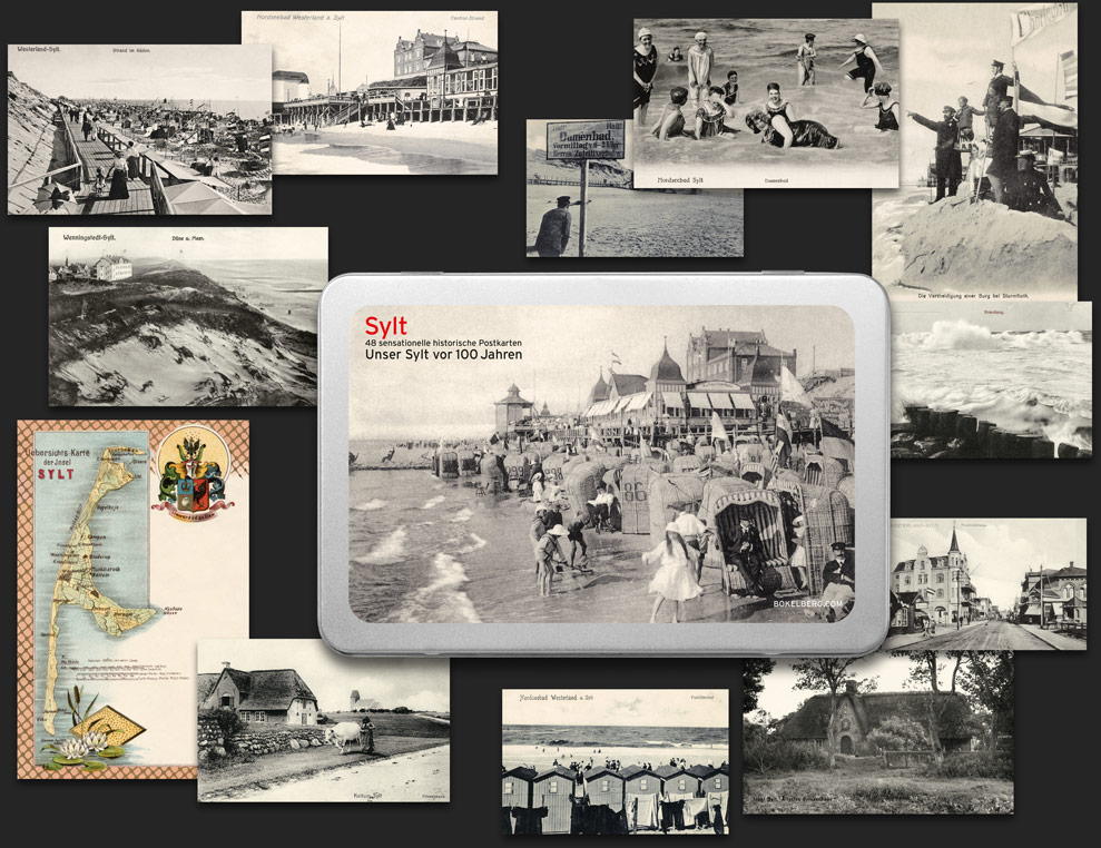 Postcard Box Sylt