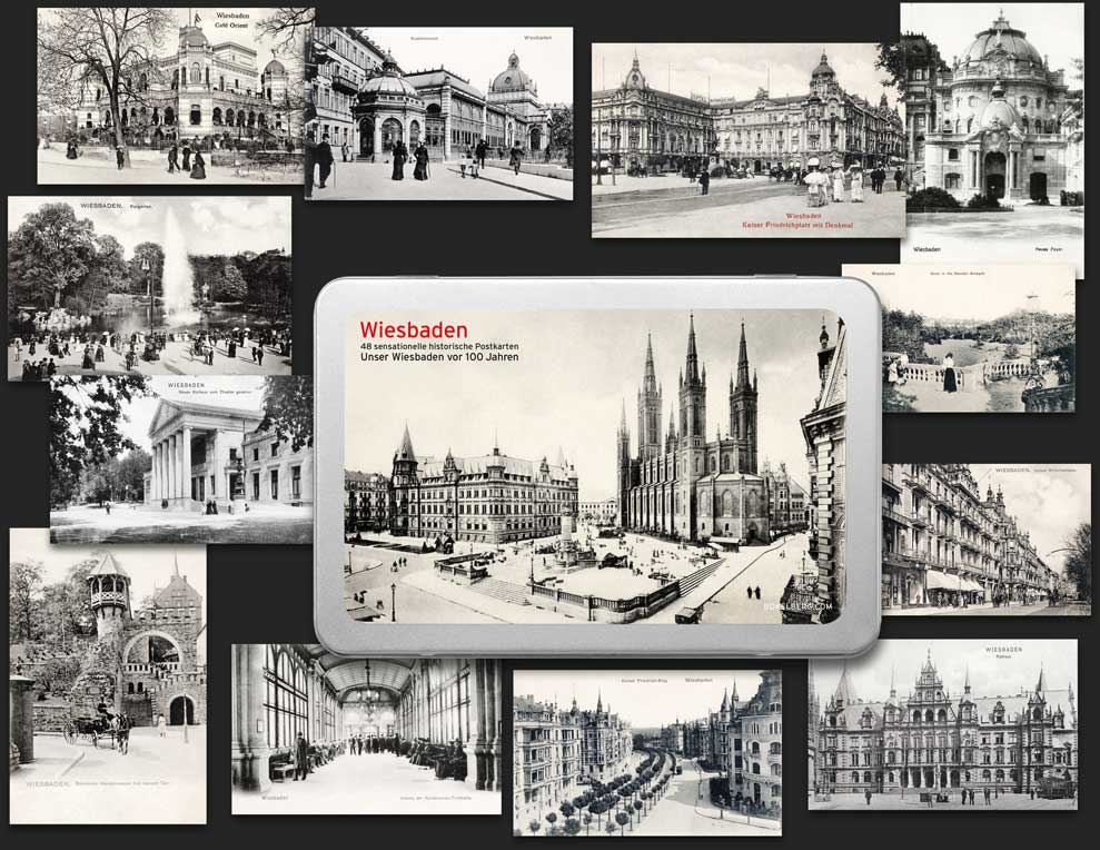 Postcard Box Wiesbaden
